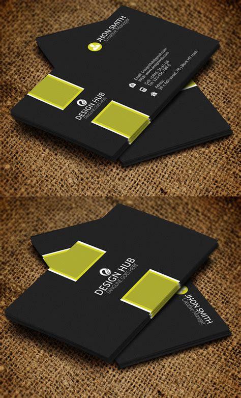 Business Card Template 26 Modern Business Cards Psd Templates Print Ready