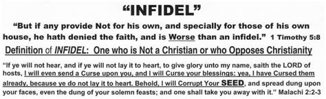 News Infidel Not Providing For Your Own Family Is News Infidel Not Providing For Your Own Family Is