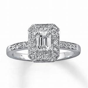 ten beautiful emerald cut engagement rings bestbride101 With emerald diamond wedding rings
