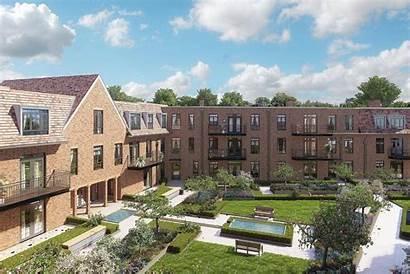 Gated Community Houses Homes Hampstead Flats Built