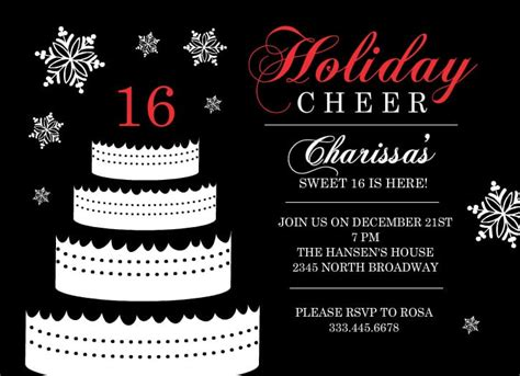 16th Birthday Invitations Templates by 16th Invitation Templates