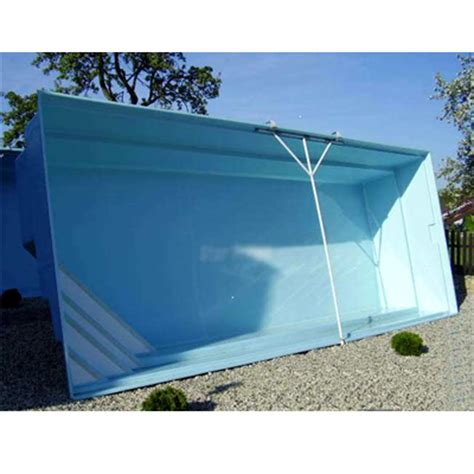 Pool 1 50 Tief by Gfk Pool Aus Polyester Glasfaser 8 00 X 3 20 X 1 50 M