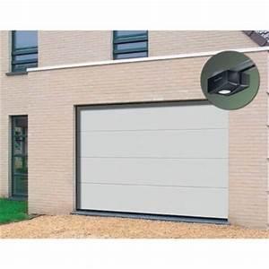 porte de garage sectionnelle premontee 20 42 mm et sa With porte de garage sectionnelle prémontée