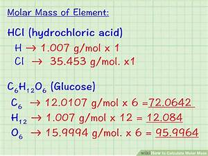 Co2 Ausstoß Berechnen Formel : how to calculate molar mass 7 steps with pictures wikihow ~ Themetempest.com Abrechnung