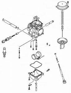 Kawasaki Oem Carburetor Assembly 2003