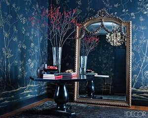 The Glam Pad: Blue de Gournay and Gracie Wallpapered ...
