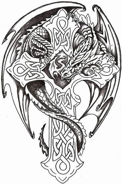 Dragon Celtic Deviantart Tattoo Lord Watercolor Thelob