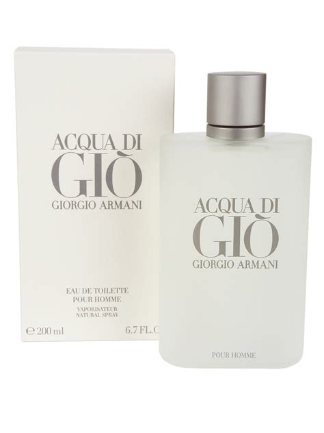 purchase giorgio armani acqua di gi 242 pour homme eau de toilette 200 ml duty and tax free