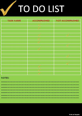 list template professional word templates