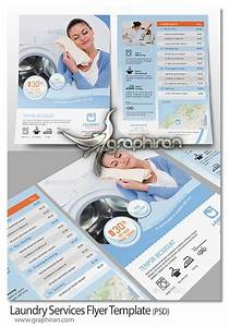 laundry flyers templates -