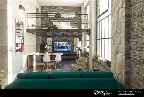 models loft apartments industrial loft