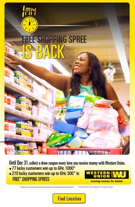Western Union -free shopping
