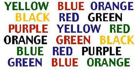 the color test left brain right brain conflict