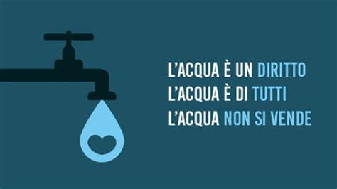 acqua pubblica al lavoro  rispettare il referendum del