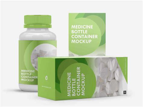 ✓ free for commercial use ✓ high quality images. Free Medicine Bottle Mockup | Mockuptree