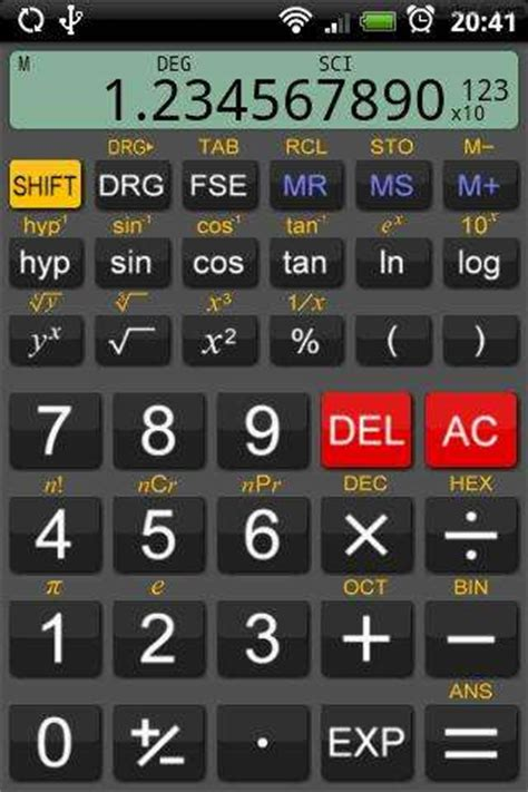 calculator app for android scientific calculator app for android