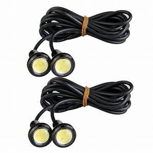 KIT 2 FARETTI 9 LED FENDINEBBIA PER AUTO ANTERIORI E POSTERIORI TUNING 046738 Lampadine per