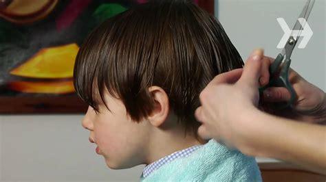 cut  boys hair youtube