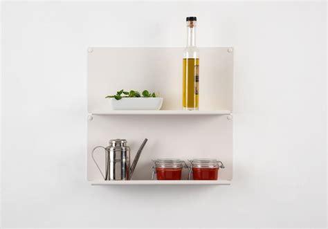 le de cuisine étagère pour la cuisine quot le quot ot de 2 45x10 cm acier
