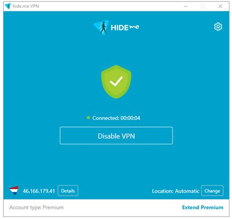 vpn client  windows hideme