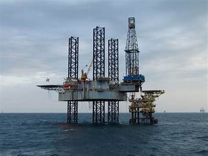 Oil Rig Helicopter Marine Equipment Industrial Offshore
