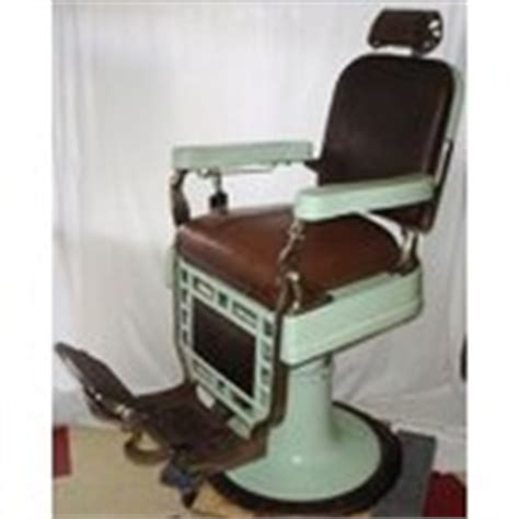 Kochs Barber Chair History by Theo A Kochs Hy Lo Draulic Barber Chair W Headrest Vtg