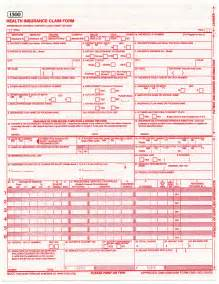 CMS-1500 Insurance Claim Form