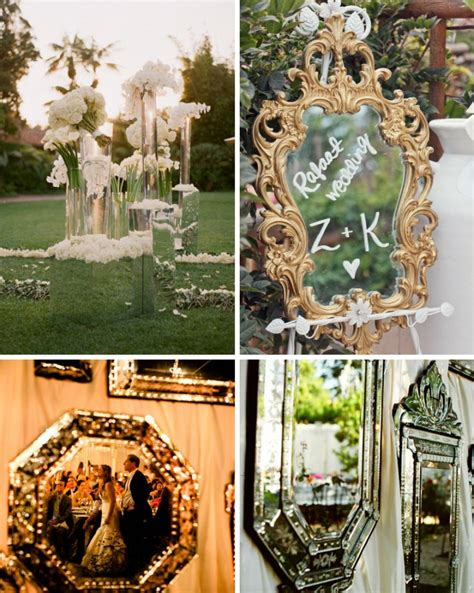 decoration a essai mariage mirror mirror on the wall make my wedding sparkliest of all