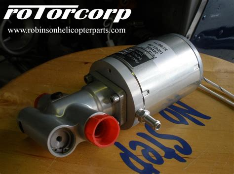 New Design R44 Boost Pump - Rotorcorp
