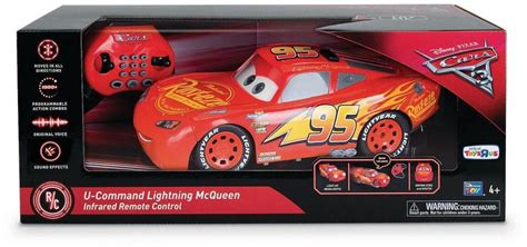 Disney Pixar Cars 3 Infrared Remote Control Car Lightning