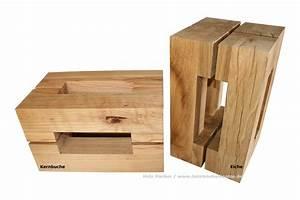 Kernbuche Holz Kaufen : hocker aus versteinertem holz ~ Markanthonyermac.com Haus und Dekorationen