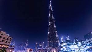 Light Tower Images Wallpaper Khalifa Tower Dubai Uae 4k Travel 15633