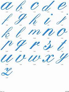 Fancy Font Alphabet Lower Case. Lesupercoin Printables ...
