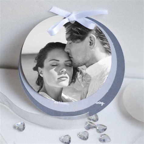 faire part mariage rond personnalisable faire part compos 233 de 3 ronds avec photo personnalisable