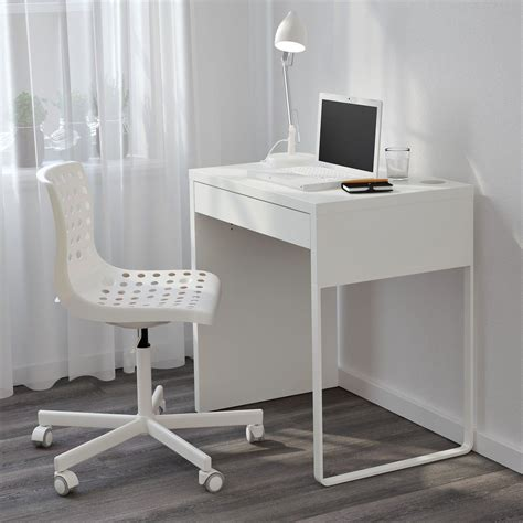 Narrow Computer Desk by Narrow Computer Desk Ikea Micke White For Small Space