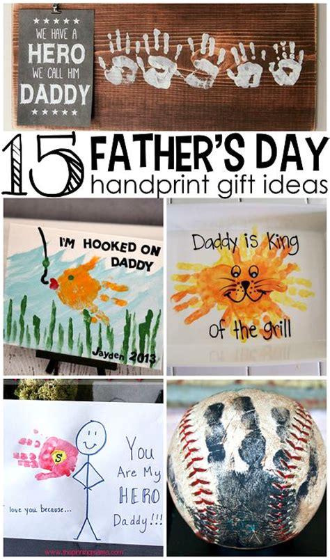 fathers day handprint gift ideas  kids creative