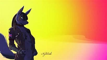 Furry Furries Wallpapers Background Desktop Wolf Backgrounds