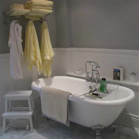 bathroom with wainscoting ideas bloombety wainscoting in bathroom ideas with yellow
