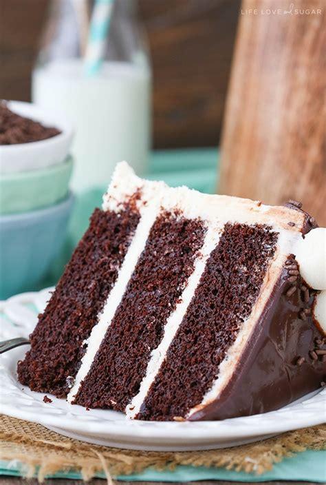 baileys chocolate layer cake   chocolate cake recipe