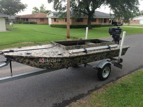 Homemade Aluminum Fishing Boat by 2012 Homemade Aluminum Layout Sneak Boat Duck Boat For