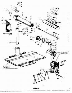 Dewalt Radial Arm Saw Parts Diagram