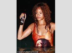 Rihanna's boozy night dip in Bob Marley swimsuit in