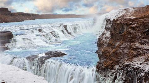 Gullfoss Waterfall Backgrounds by Waterfalls Iceland Wallpapers High Quality Free
