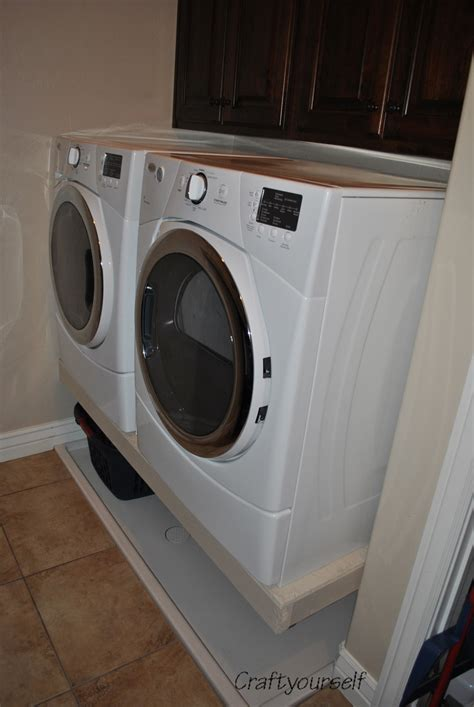 washer dryer pedestal goodbye washer dryer pedestals craft