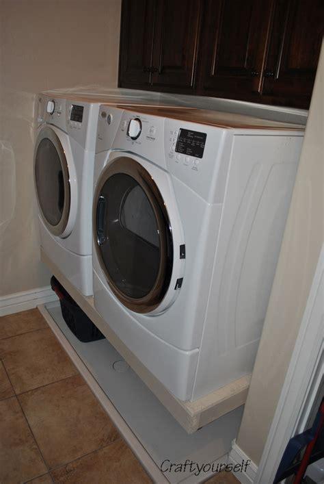 Goodbye Washer & Dryer Pedestals! Craft