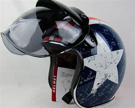 Wholesale 3 Snap Vintage Helmet Bubbles Shield Visor