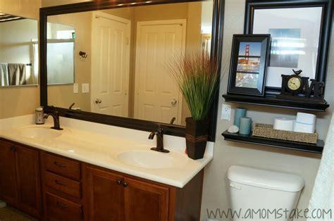 Bathroom Mirror Remodel
