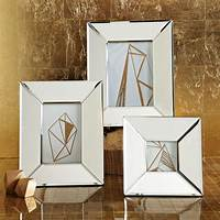 mirrored picture frames Mirrored Frames | west elm
