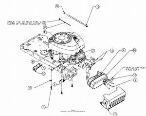 Mtd 13ad78xs099  247 203733   T1400   2016  Parts Diagram