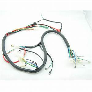 Quad Wiring Harness 200 250cc Chinese Electric Start Loncin Zongshen Ducar Lifan Free Shipping
